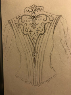 Prince Act 3 Jacket design with Walsh Crest