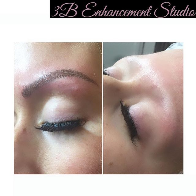 Final touch up complete. Brow perfection for this bride to be.jpg