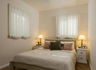 חדר שינה כמו בבית מלון