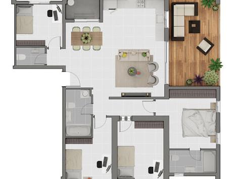 הדירה שלי לא גדולה?