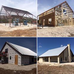 Hybrid Home Building Process