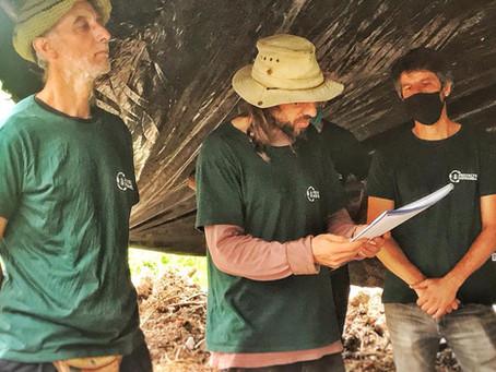 COMUNICADO DE PRENSA HORMIGA - Visita del Secretario de Ambiente de la Provincia de Córdoba