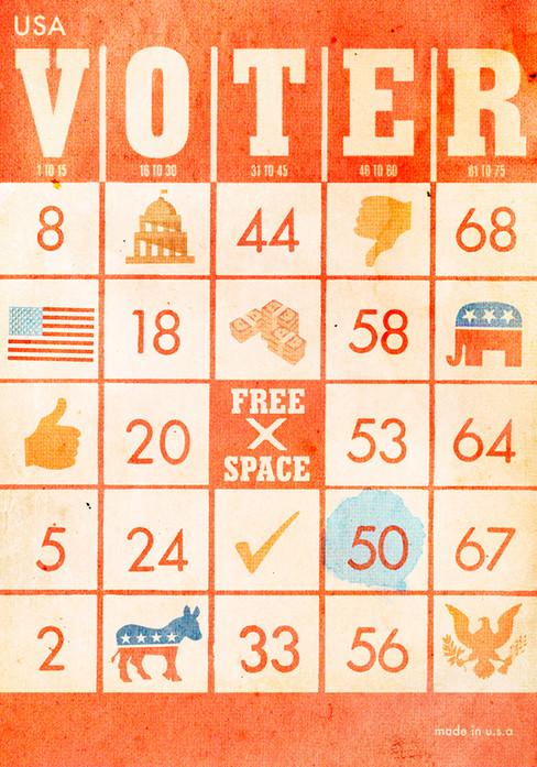 Voter Bingo