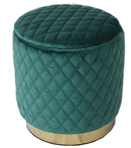 18402 Emerald Green Footstool