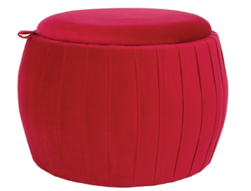 18404 Red Footstool