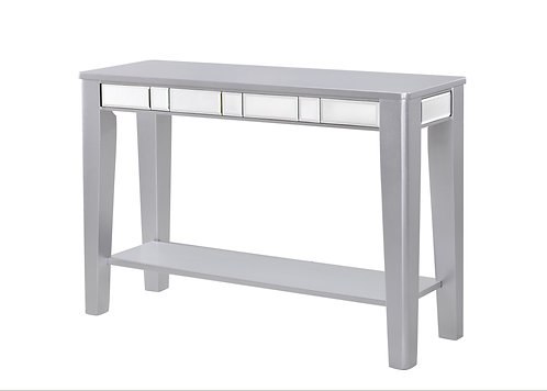 Crystal Silver Console