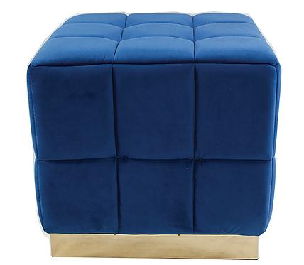 18401 Royal Blue Footstool