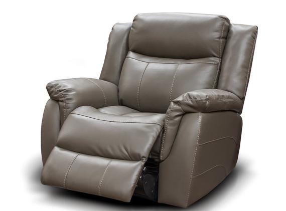 Walton Leather Look - 1R - Grey (Large).