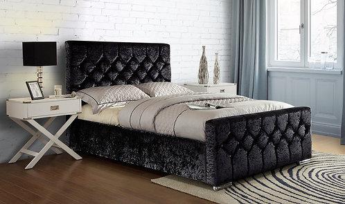 Galaxy Black Bed