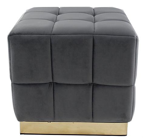 18401 Grey Footstool
