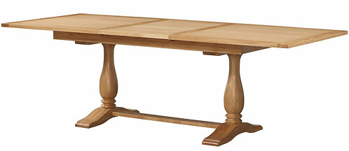 Oak Twin Pod Table