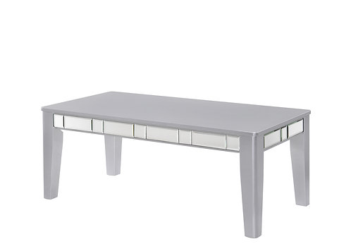 Crystal Silver Coffee Table