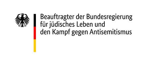 Logo des Beauftragten der Bundesregierung für jüdisches Leben und den Kampf gegen Antisemitismus