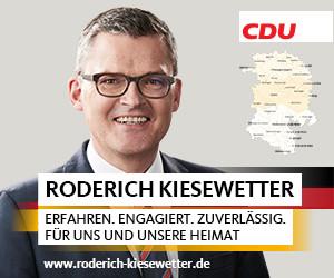 Roderich Kiesewetter, Mitglied des Bundestages, unterstützt Toleranz-Tunnel