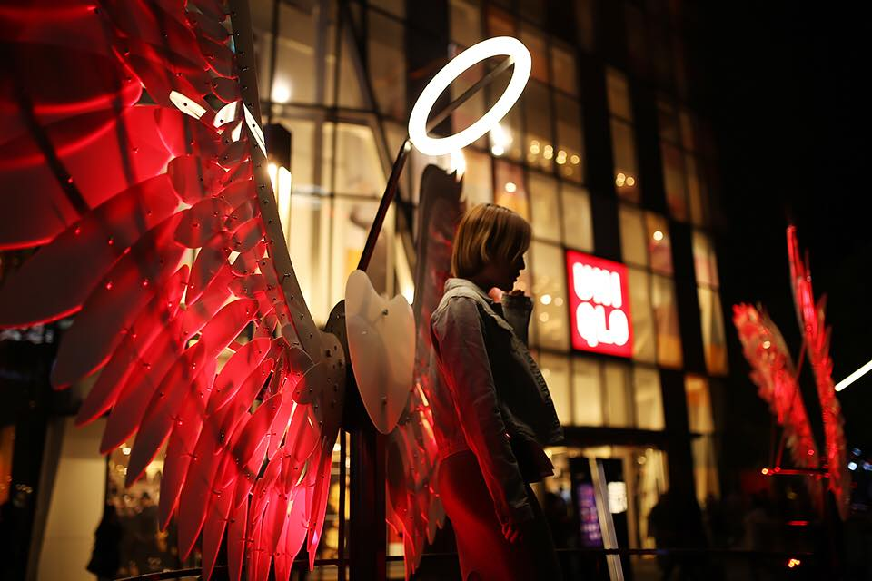 Angels at Taikoo Lights Beijing