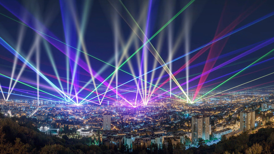 Haifa Lights Show