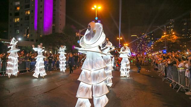 Tel Aviv Light Parade