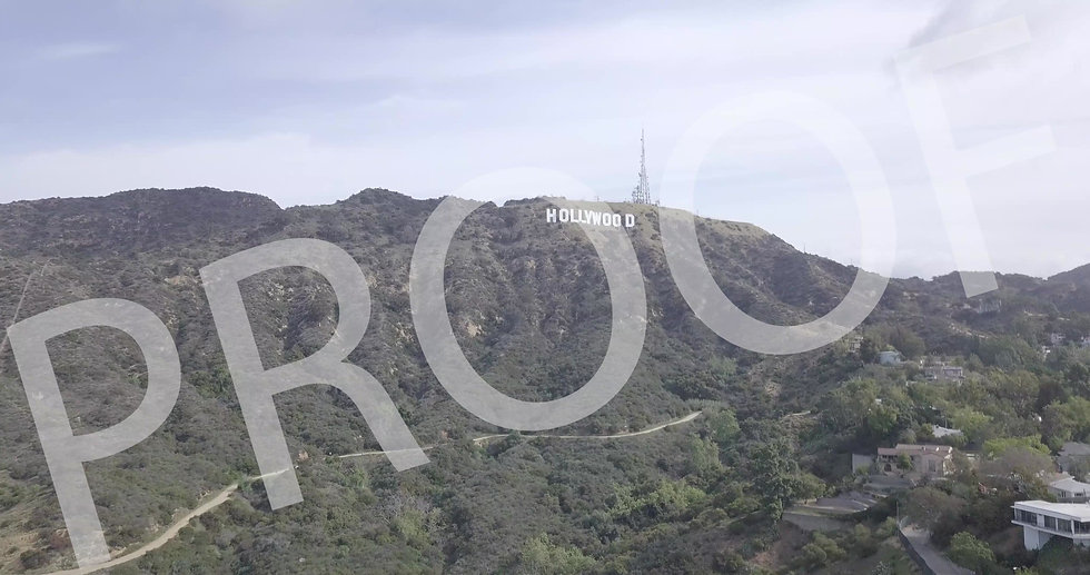 HOLLYWOOD SIGN 1