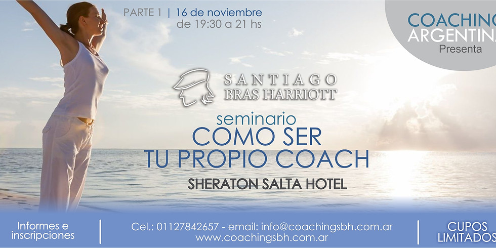 COMO SER TU PROPIO COACH - Salta