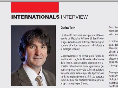 Et oversatt intervju med dr. Csaba Tóth av Evolutamente.it og Immunoreica.