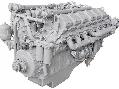 Двигатель 240НМ2-1000186 (индивидуальная сборка)