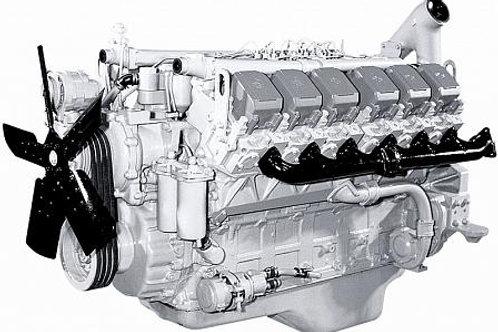 Двигатель 240БМ2-1000190 раздельные ГБЦ с гидромуфтой (индивидуальная сборка)
