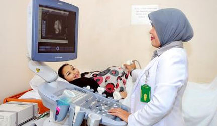 Pemeriksaan USG Klinik Raden Saleh
