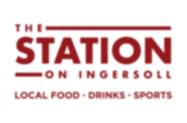 The Station on Ingersoll - logo white.jp