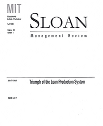 Article on Lean Manufacturing