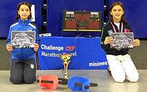 Children holding their awards