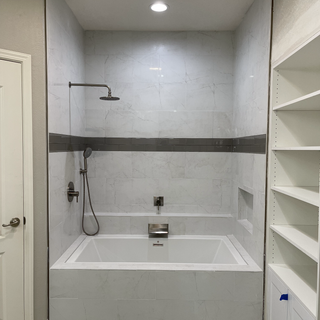 Shower-Tub Replacement Remodel
