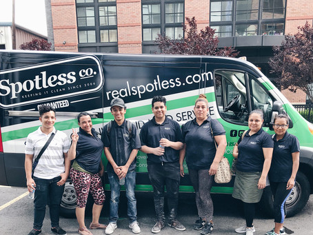13th anniversary at Spotless Cleaning