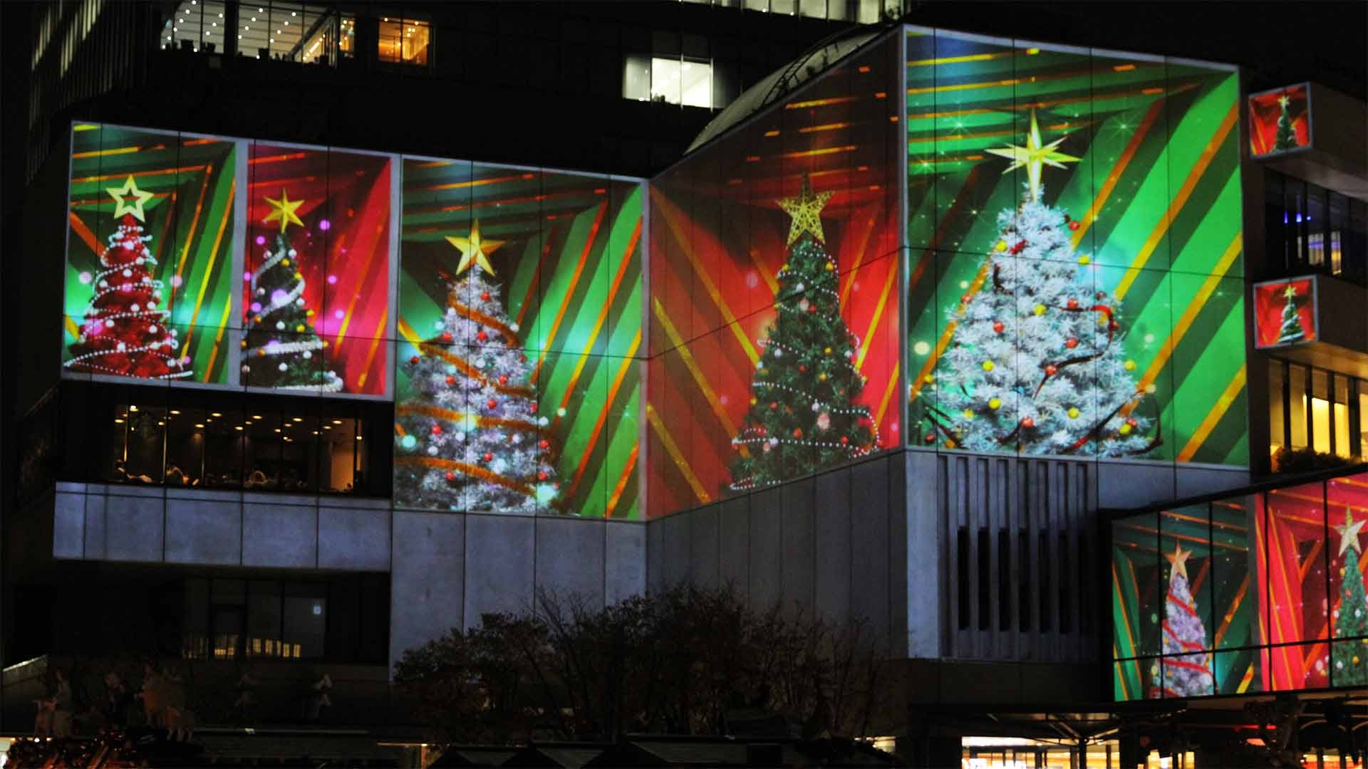 Mall Video Mapping 2012