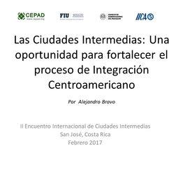 Alejandro Bravo_Las Ciudades Intermedias