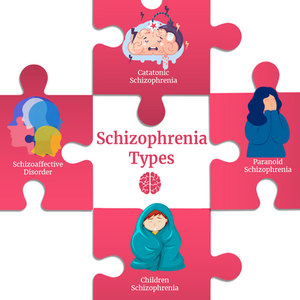 Top 4 Schizophrenia types