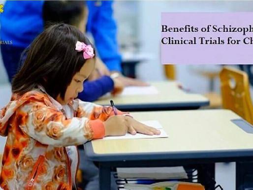 Benefits of Schizophrenia Clinical Trials for Children