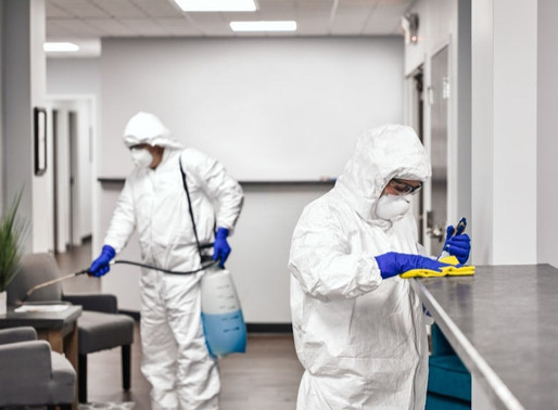 How effective is spraying disinfectant to stop the spread of coronavirus?