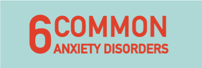 6 most common Anxiety Disorders
