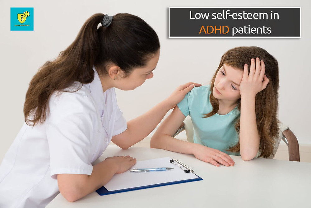 Low self-esteem in ADHD patients