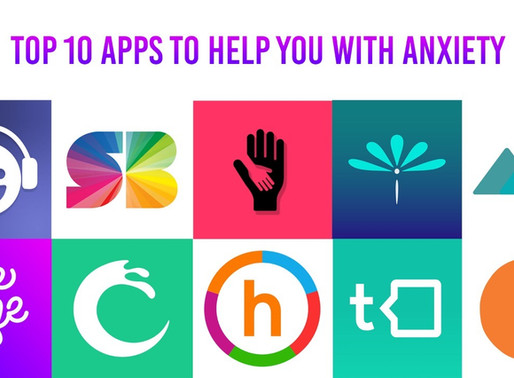 Top 10 Apps To Help You With Anxiety