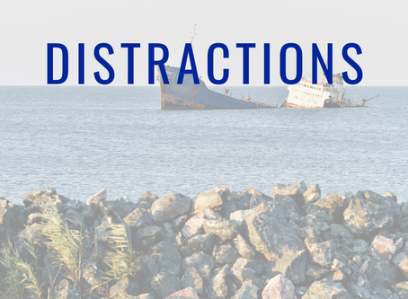 Distractions are Weighing You Down