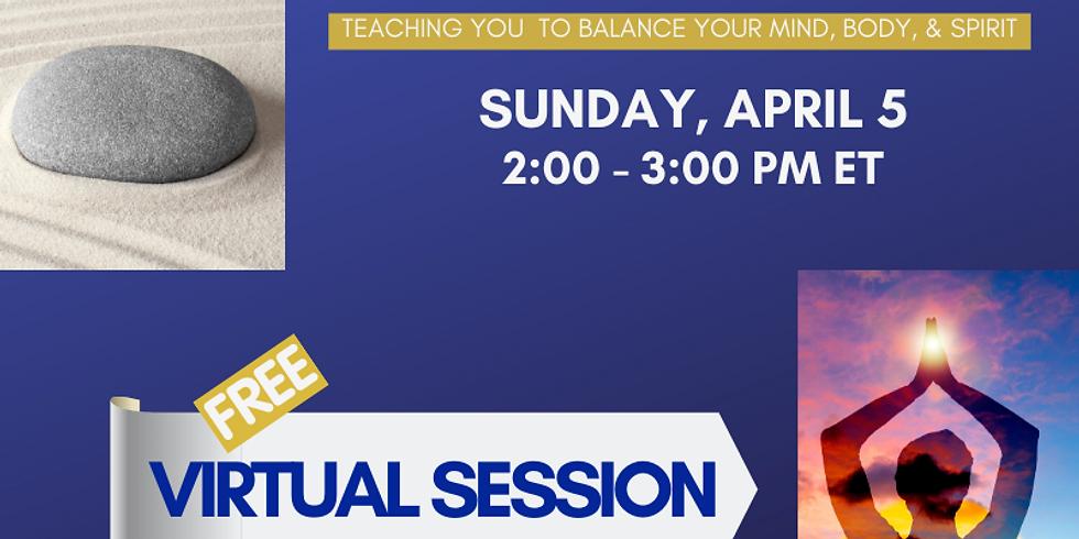 Webinar: Intro to Mindfulness Meditation