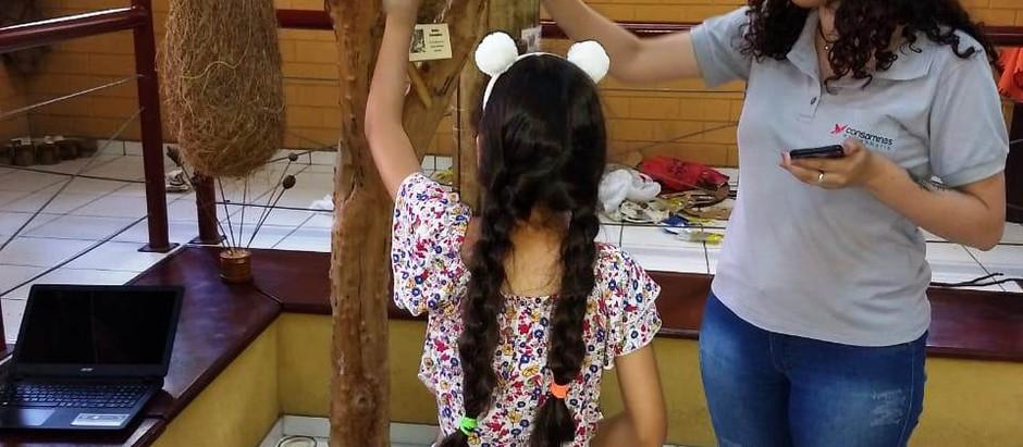 """Zoológico de Belo Horizonte-MG recebe """"Circuito dos sentidos"""" realizado pela Consominas"""
