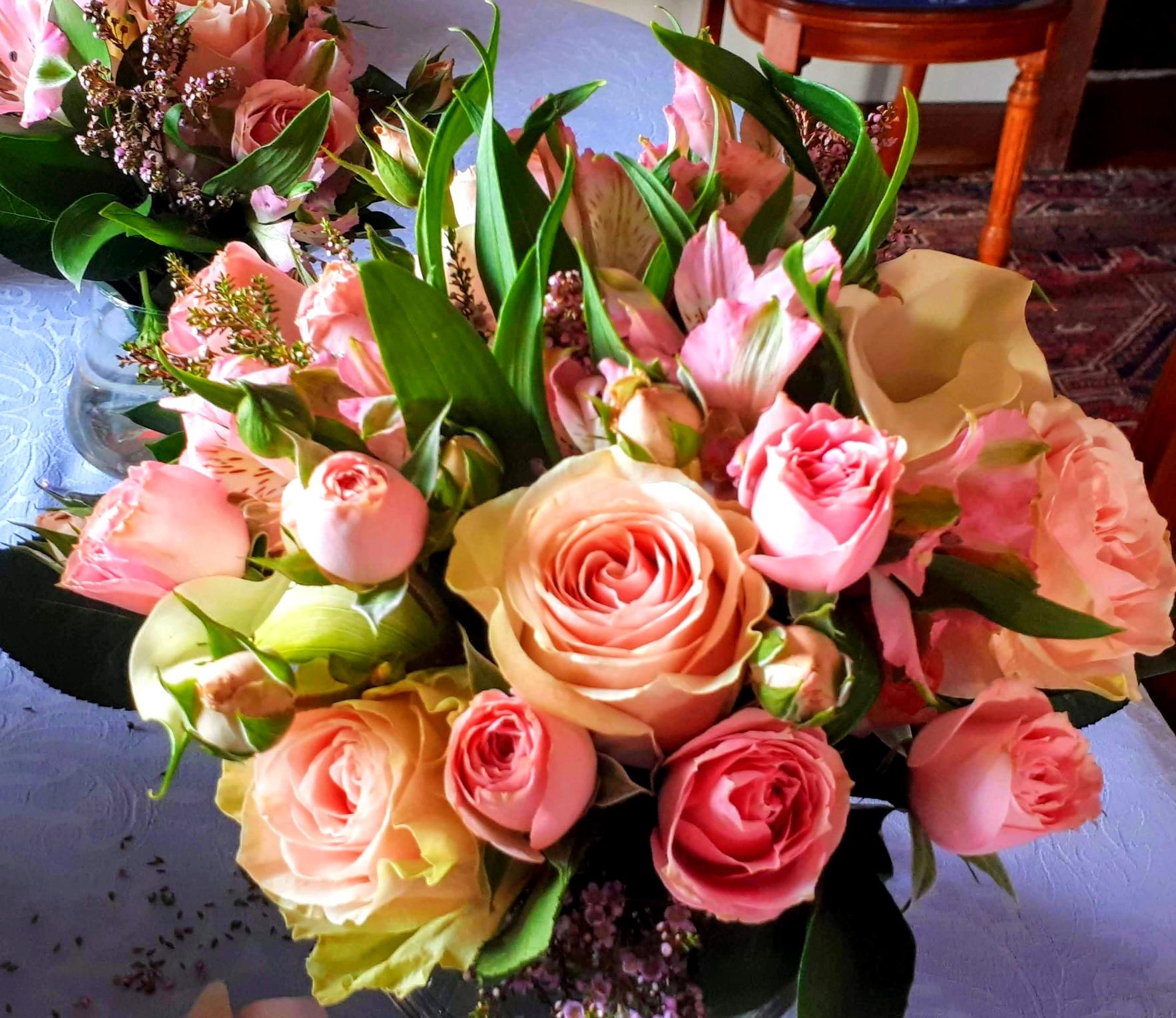 Detalh Arranjo Floral