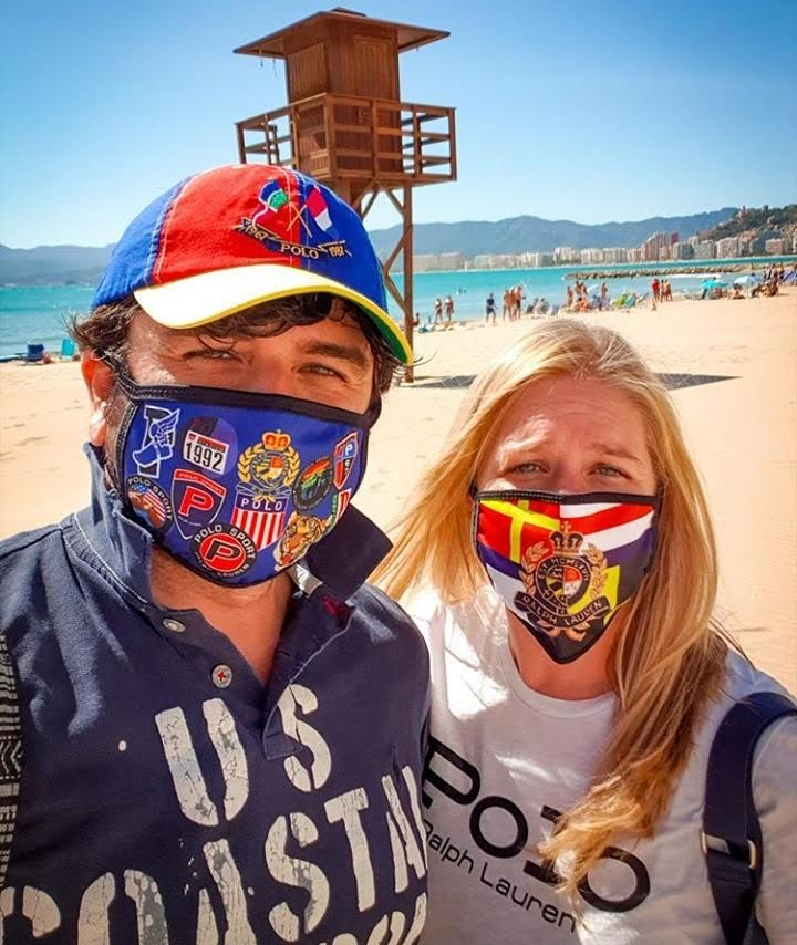 POLO BLUE AND POLO CREST (FACE MASKS)