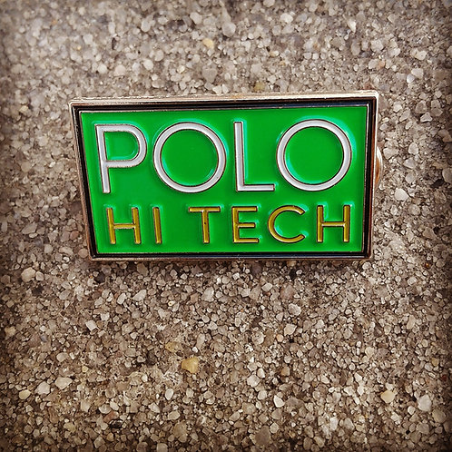 "Polo Hi Tech ""Lapel Pin"" Green"