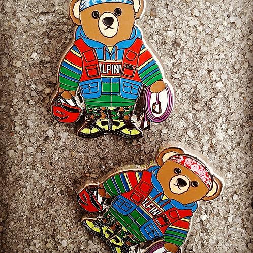 Hi Tech x Alpine (Teddy Bear) Lapel Pin