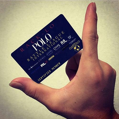 Polo Battle League (ANNUAL) Membership Card