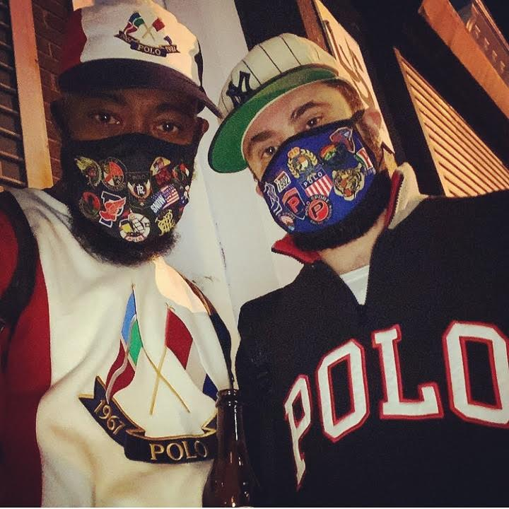 OG POLO and POLO BLUE FACE MASKS