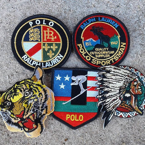 Polo Patches - 5 Piece Collection